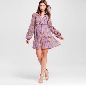 Xhilaration Floral Tiered Dress